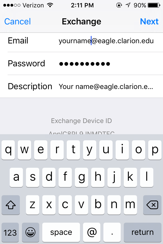 iPhone Eaglemail 3