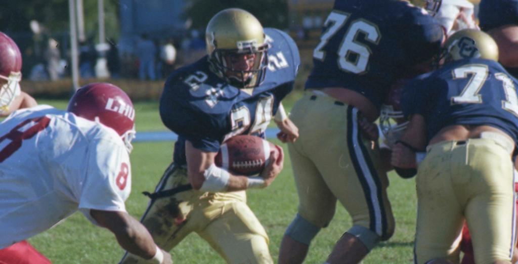 Clarion University Golden Eagle Football team from 1996 celebrates 20 years