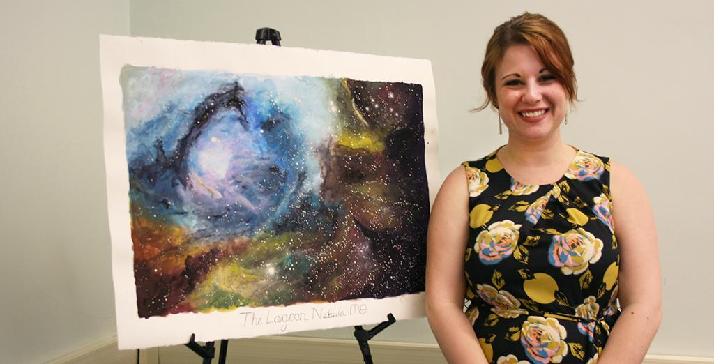 Clarion University student combines passions