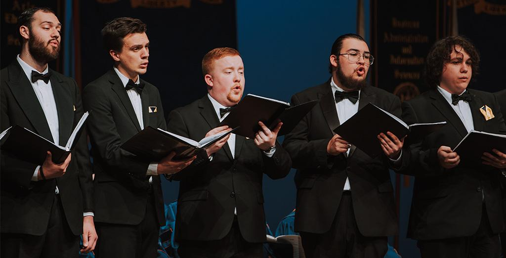 Clarion University choral choirs perform