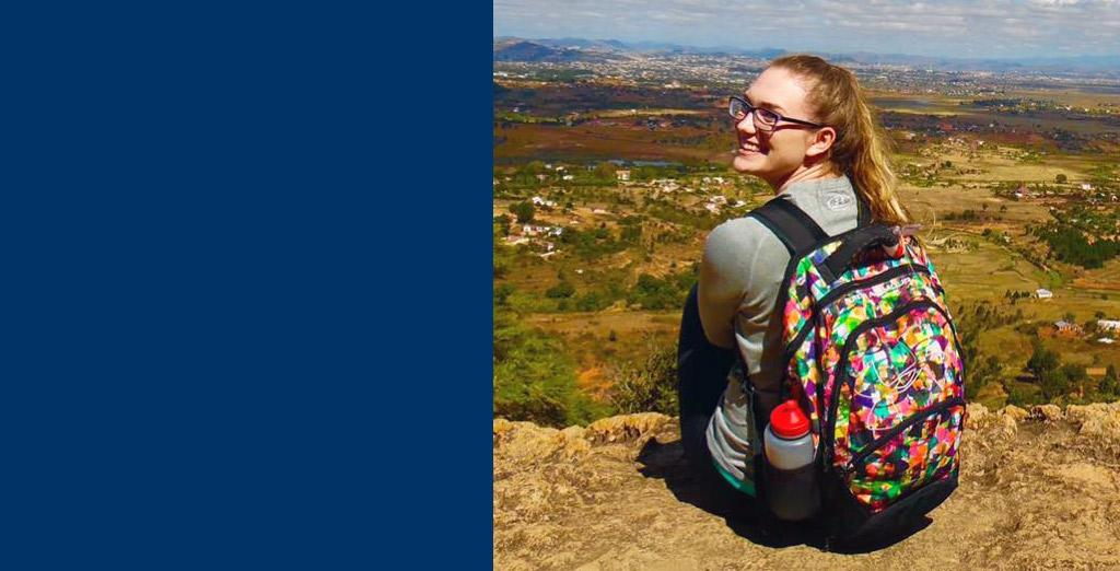 CU student studies in Madagascar as part of the study abroad program