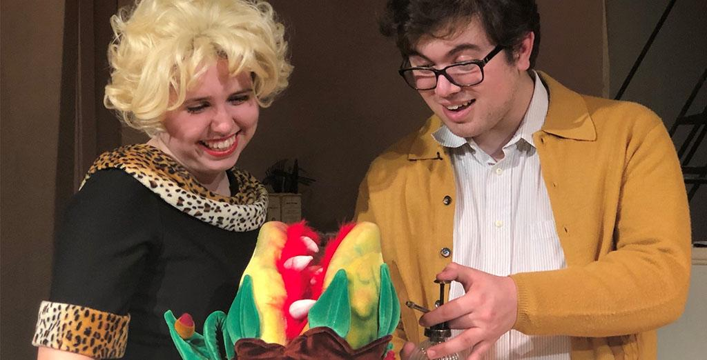 Clarion University students perform musical comedy