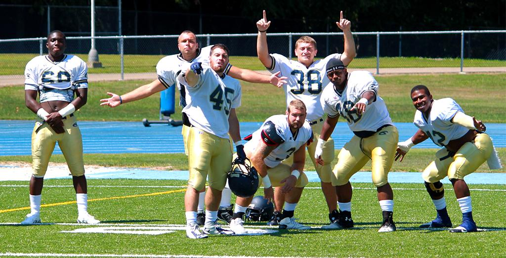 Clarion University is starting the new fall 2015 football season