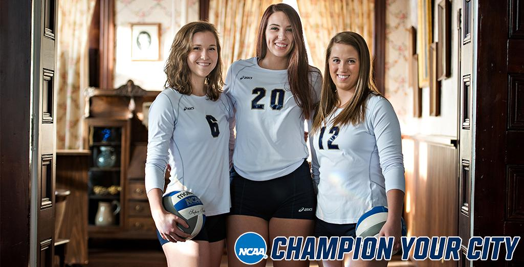 Clarion University hosts 2018 Volleyball Championship