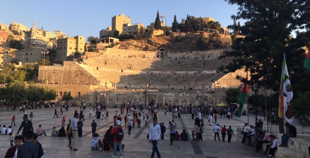 Clarion University members spends time in Jordan