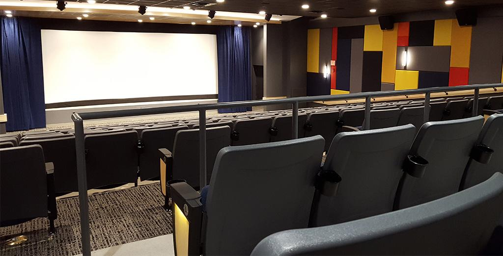 Clarion University students can now watch 2nd run movies within the new Suites on Main theater