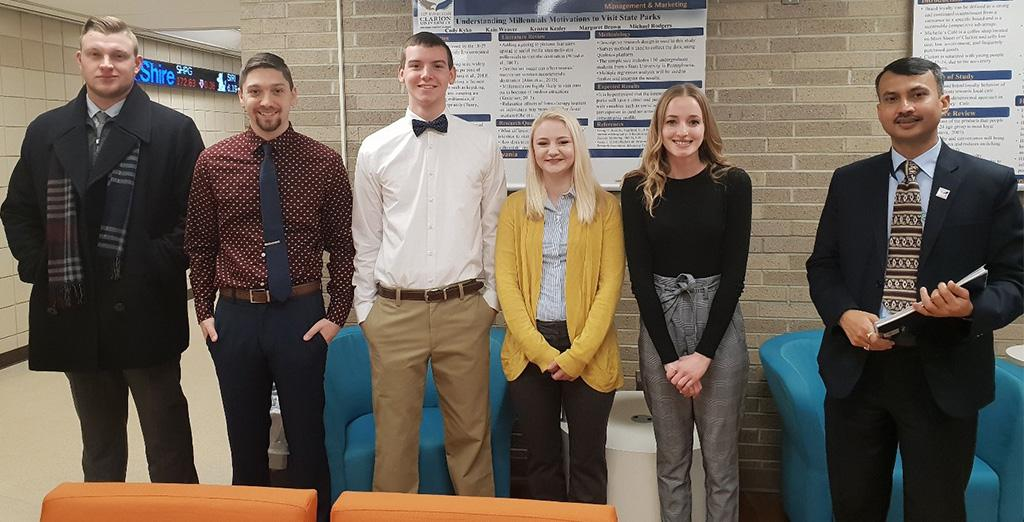 Clarion University students are encouraged to submit research