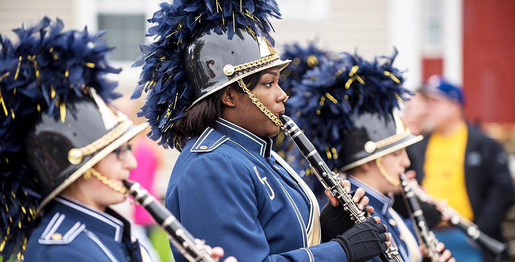 Clarion Golden Eagle marching band sees highest membership level in sixteen years