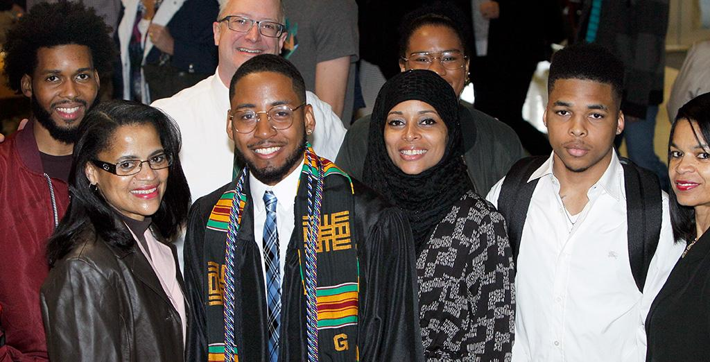 Clarion University graduate Torron shows pride