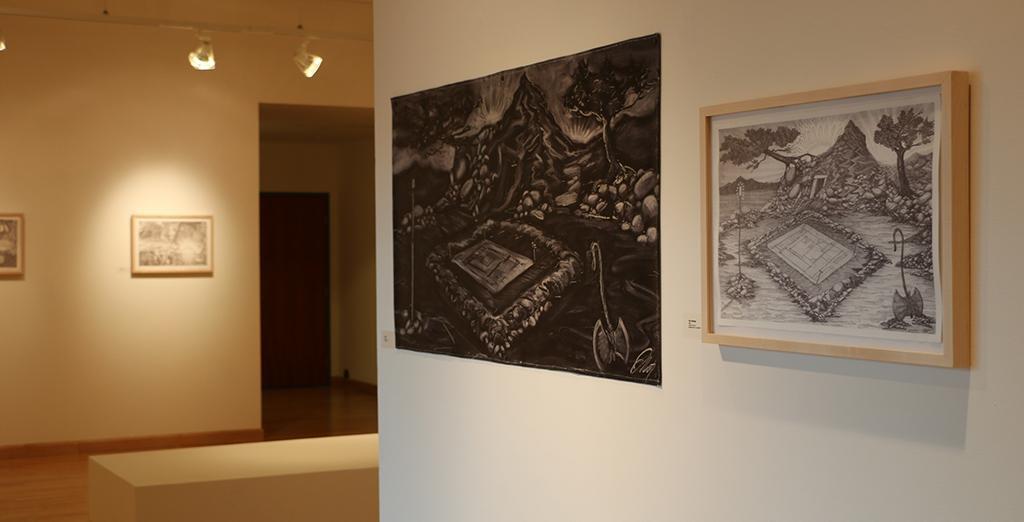 Clarion University features artwork of Benedict Oddi