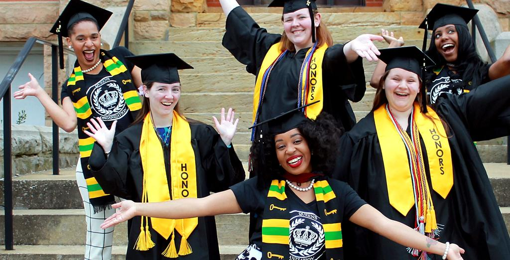 Clarion University Students graduate today.