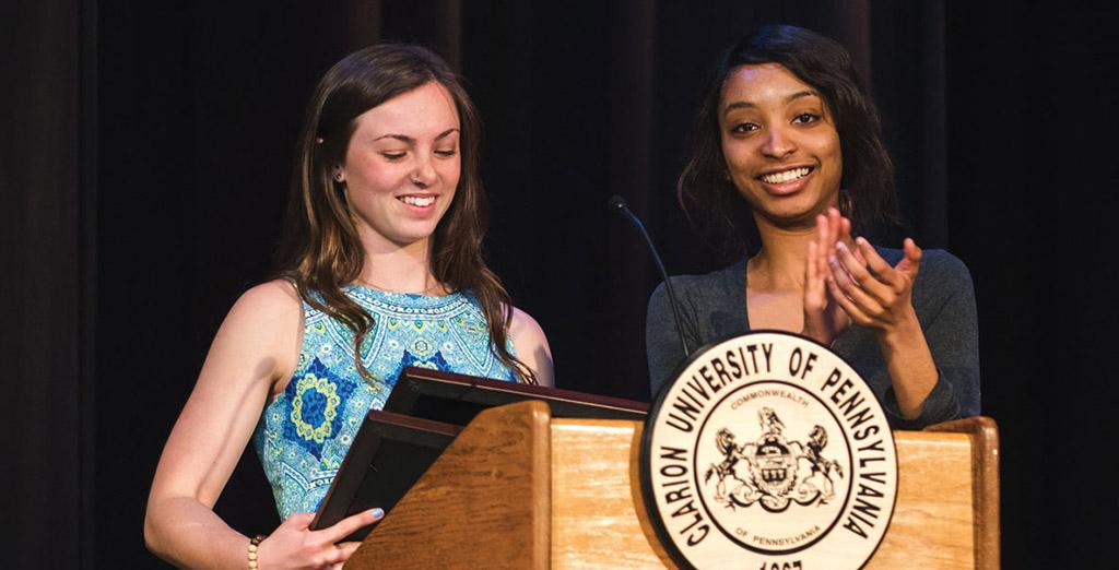 Clarion University hosts Reinhard Awards