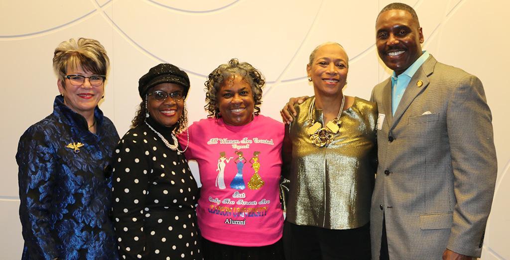 Clarion University hosts black alumni event