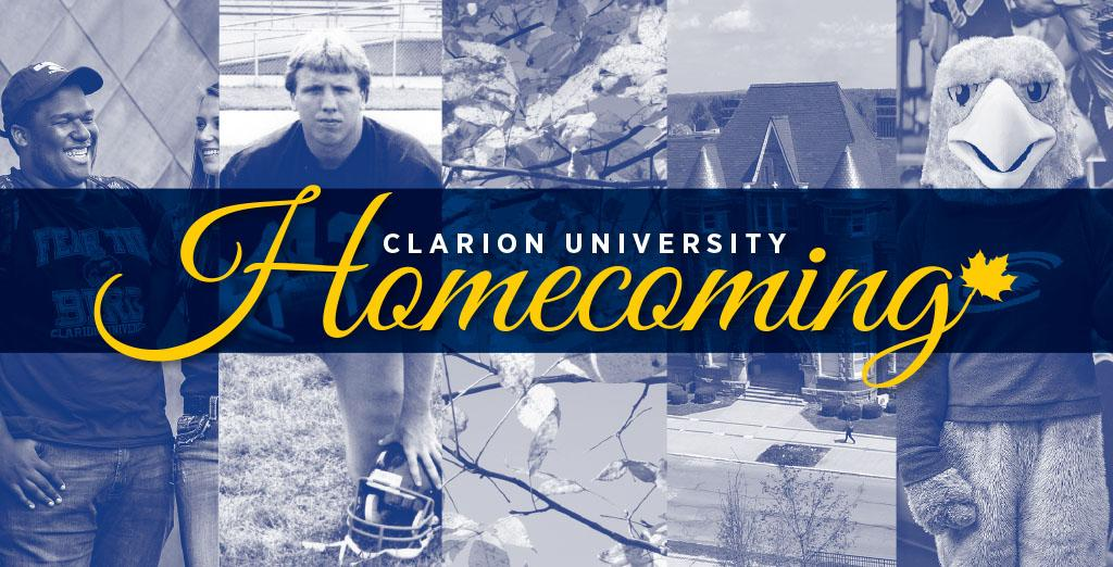 Clarion University's homecoming events approaching