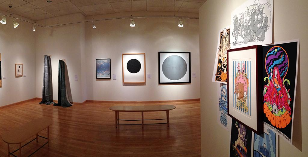 Clarion University's gallery upcoming shows
