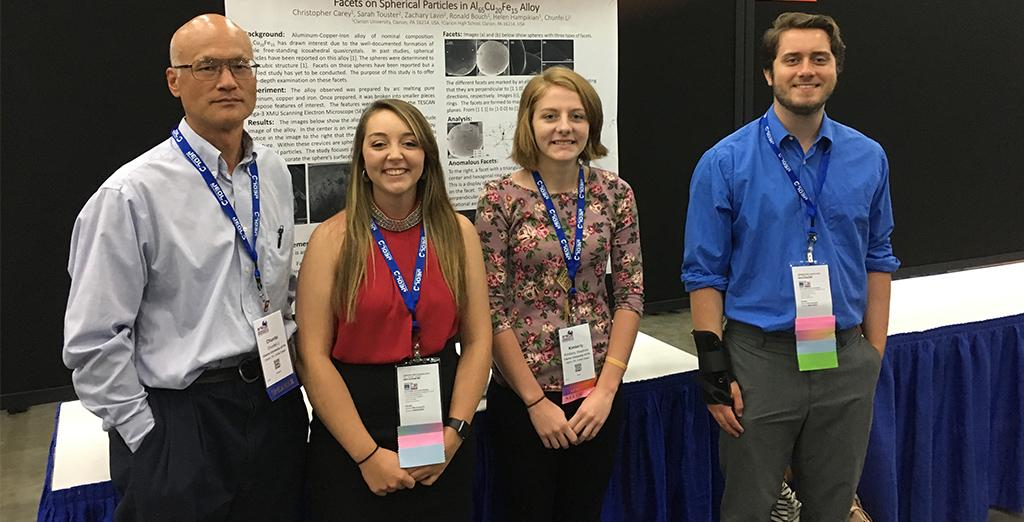 Clarion University science leaders gain grant