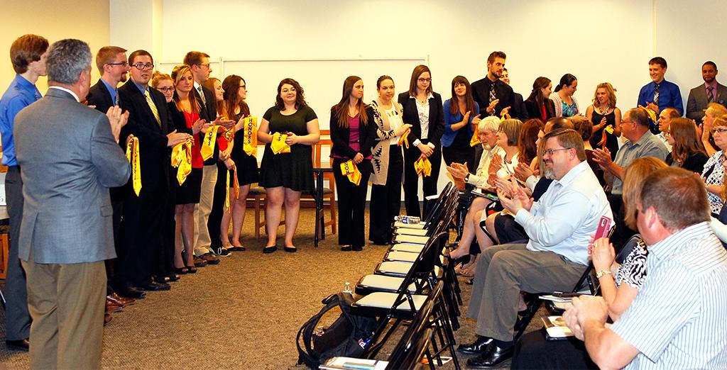 Clarion University honors students celebrated