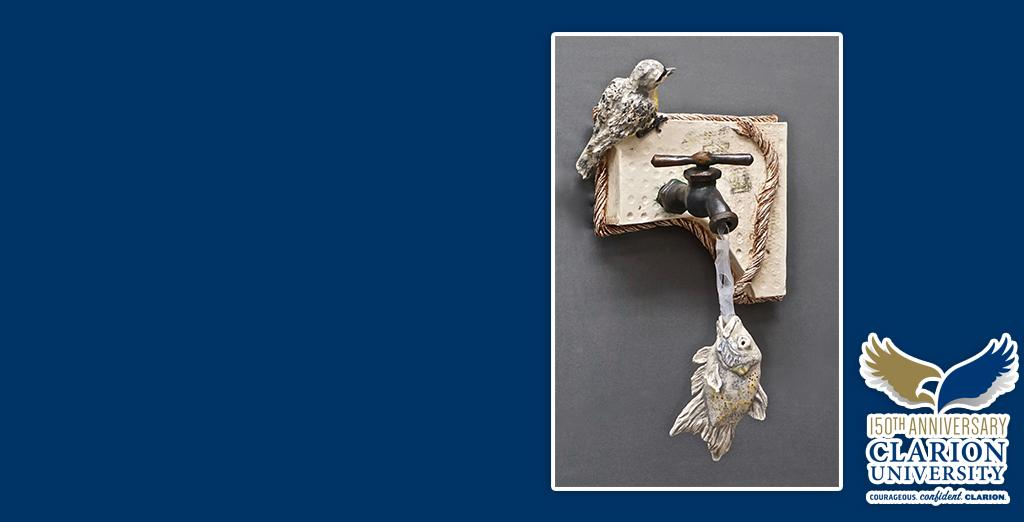 Clarion University showcases new art installation