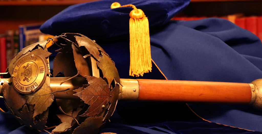 Clarion University's 2016 Spring commencement is Saturday