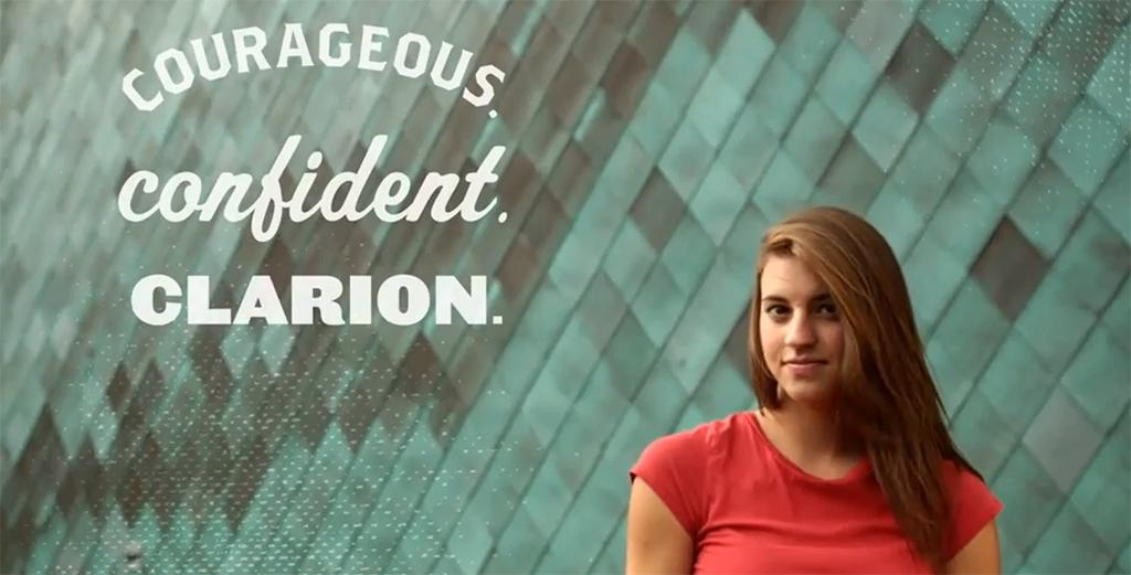 Courageous. Confident. Clarion. message is spreading