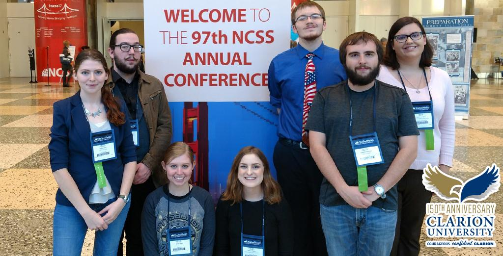 Clarion University students make an impact at their conference