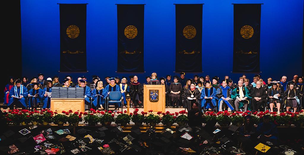 Clarion University hosts commencement