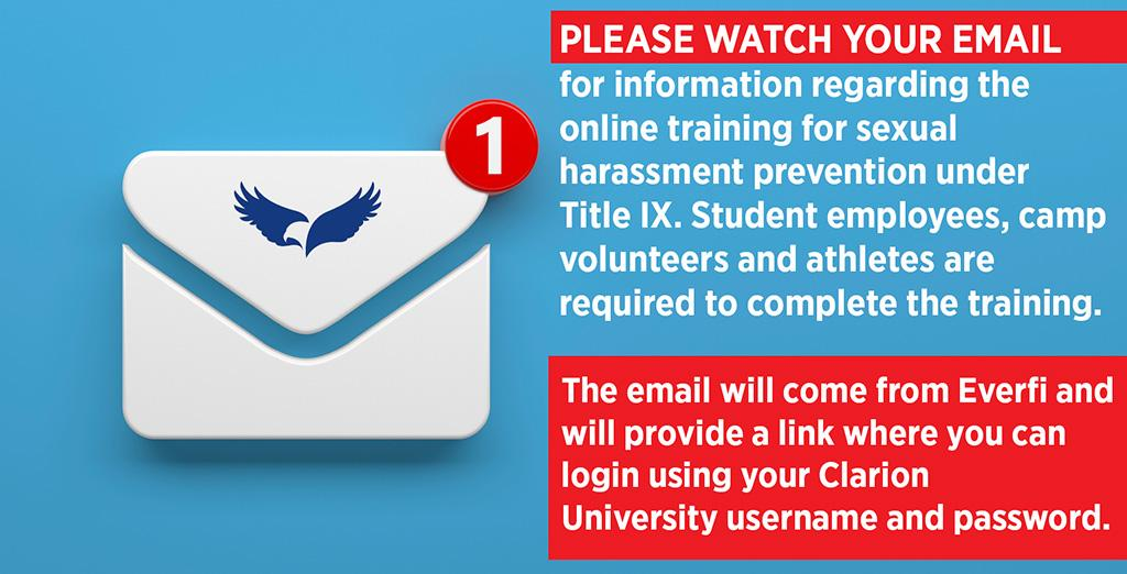 students should keep an eye on email