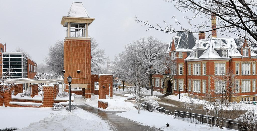 Clarion University welcomes students back for the spring semester