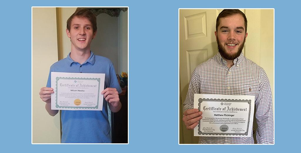 Finance majors shine. CU students place in competition.