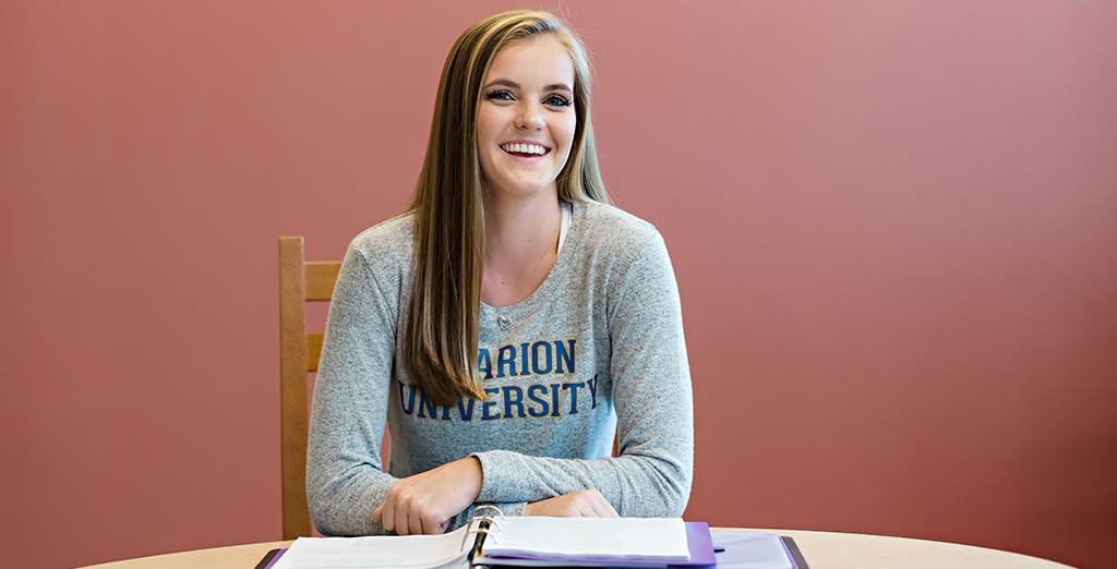 Clarion University's writing center is open