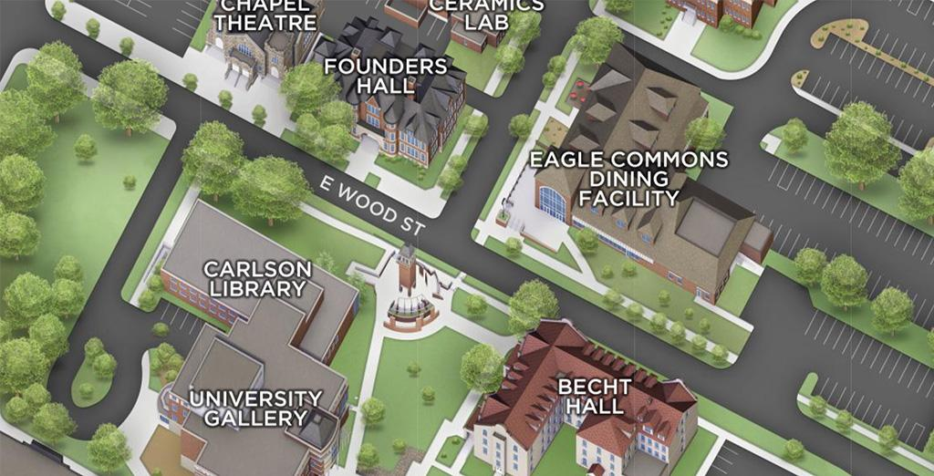 Clarion University introduces new campus map