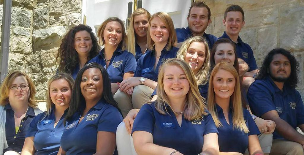 Clarion University welcomes new students