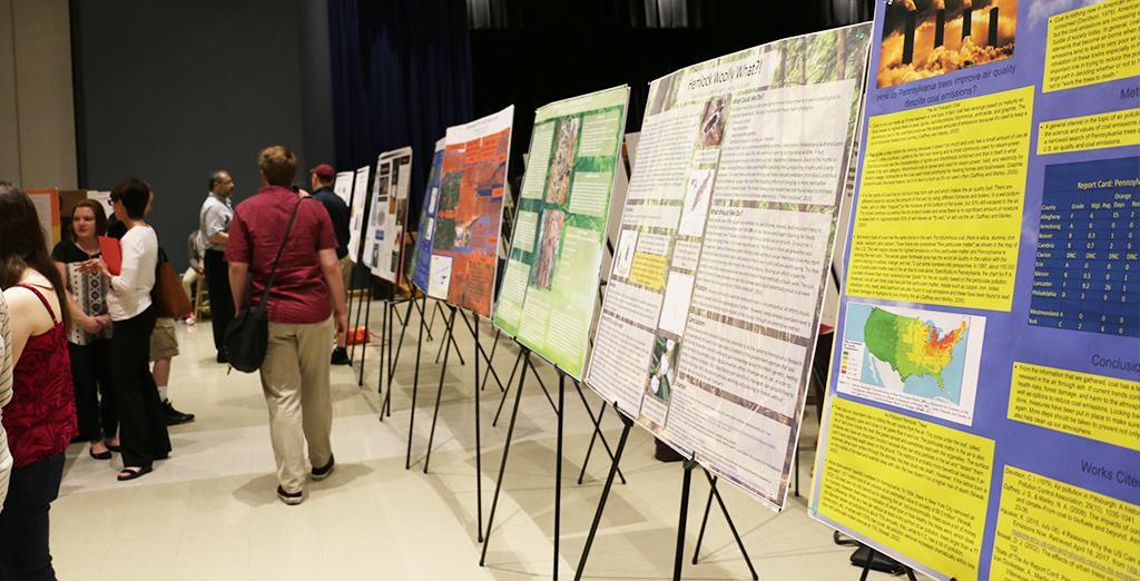 Clarion University's AES undergraduate research conference recap