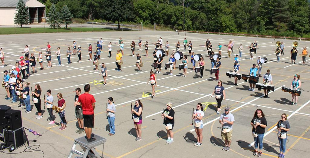 Clarion University's marching band hits new high