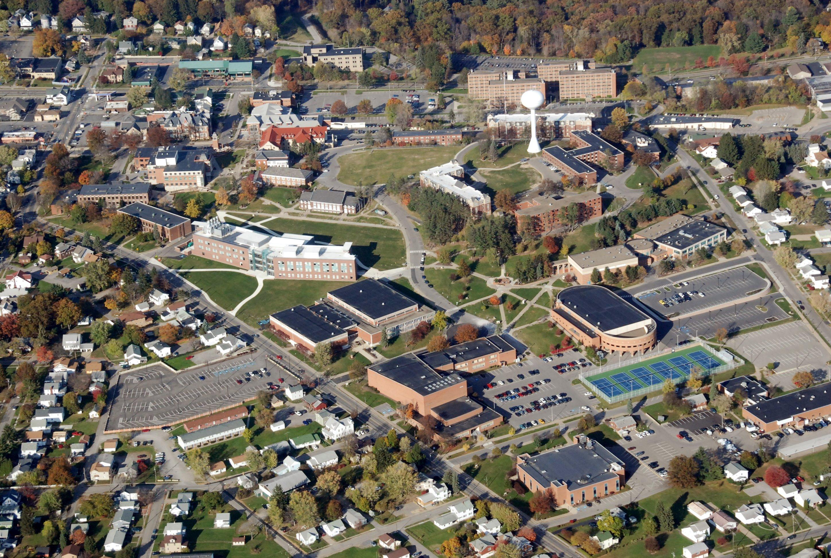 clarion university campus map Campus Maps And Directions clarion university campus map