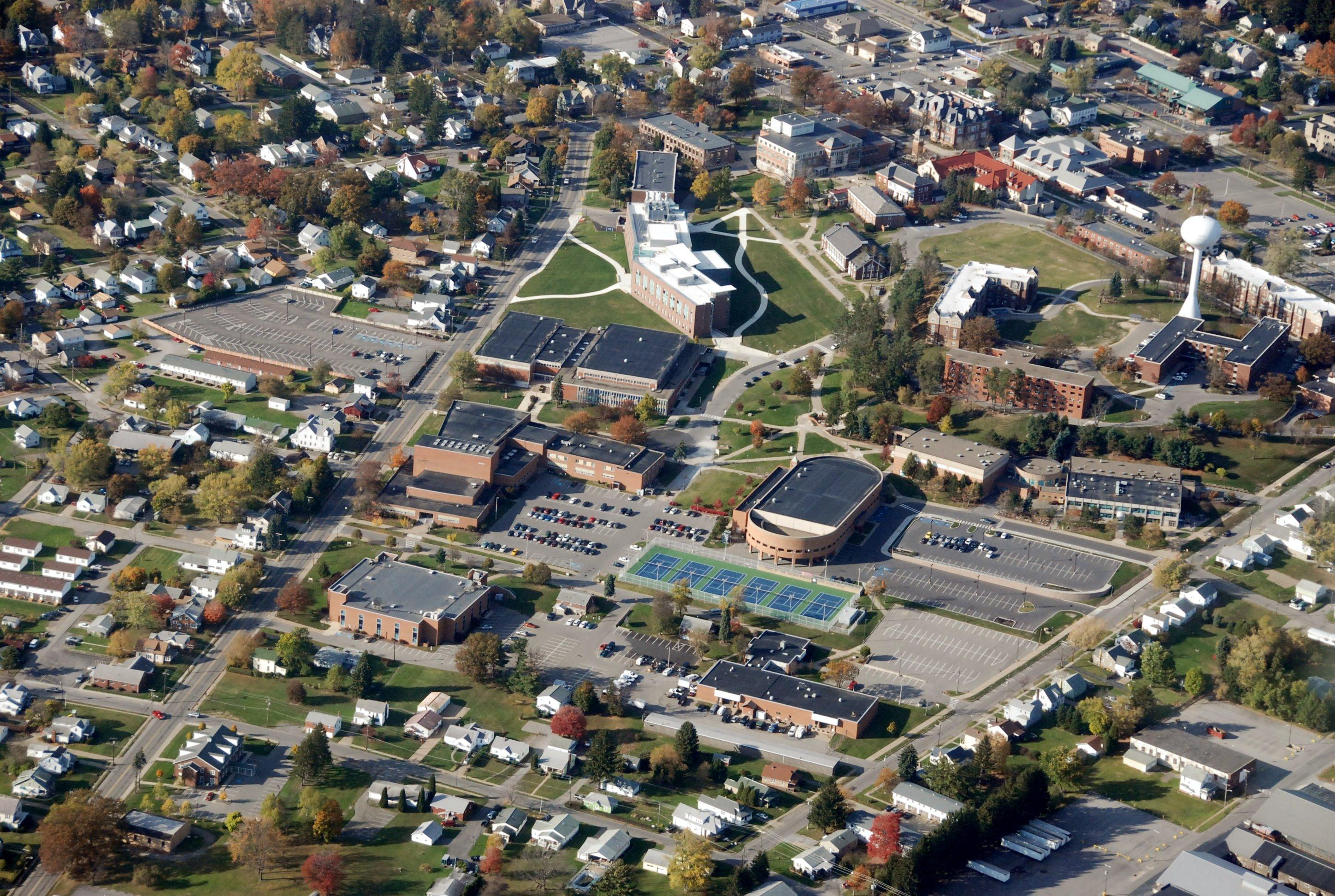 Mercyhurst University Campus Map.Campus Maps And Directions