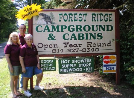 forest ridge sign