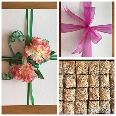 Gift wrapped foods from Koo Weh Nana